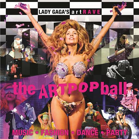 『「ArtRave: The ARTPOP Ball」ツアー』メインビジュアル