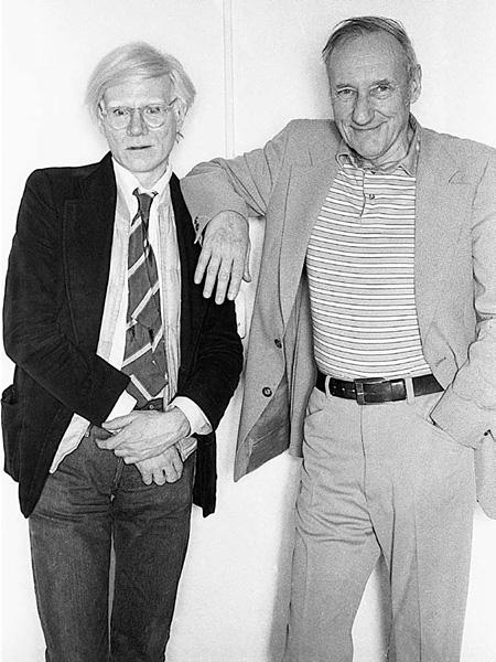 アンディ・ウォーホルとウィリアム・バロウズ