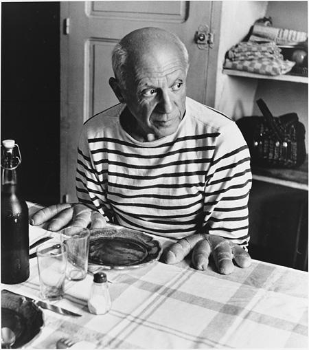 ロベール・ドアノー Robert Doisneau『ピカソのパン』 1952 ©Atelier Robert Doisneau/Contact