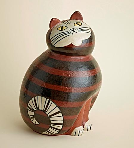 『Cat』(『Large Zoo』シリーズより) ©Lisa Larson/Thomas Carlgren