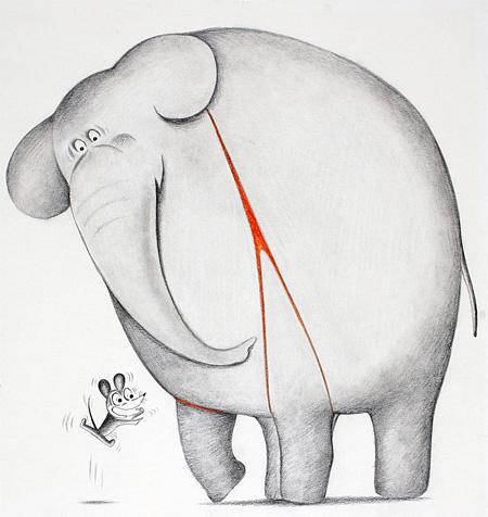 『ねずみくんのチョッキ』1974年8月 ©なかえよしを・上野紀子/ポプラ社