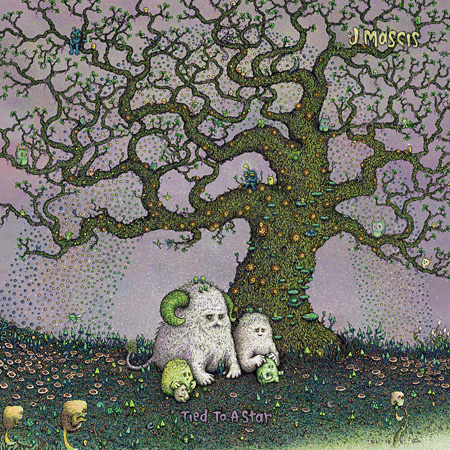 J Mascis『Tied to a Star』ジャケット