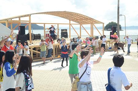 『shima fes SETOUCHI』過去の会場風景