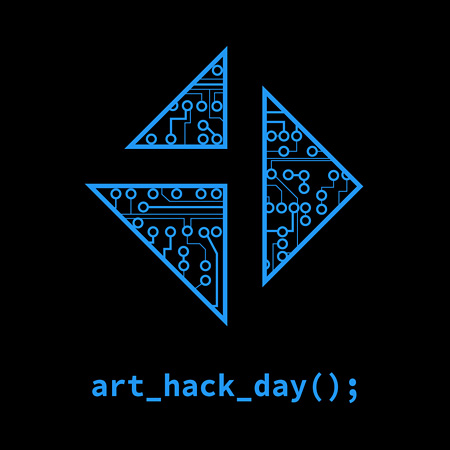 『3331α Art Hack Day』ロゴ