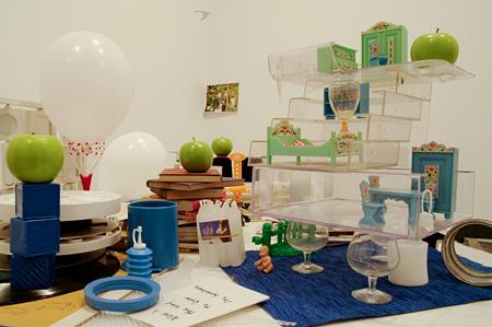 三田村光土里『Art & Breakfast-今が知るときなの、その重さを-』 2011年