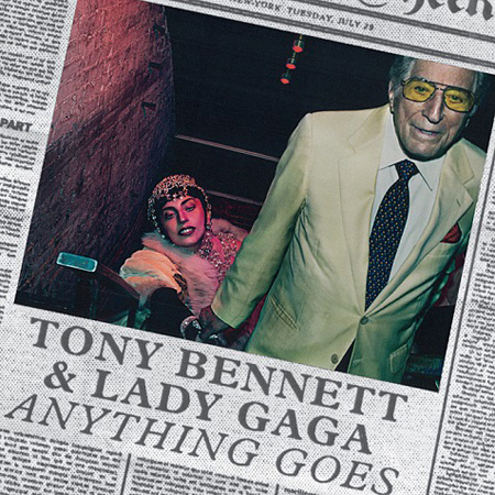 Tony Bennett & Lady Gaga『CHEEK TO CHEEK』ジャケット