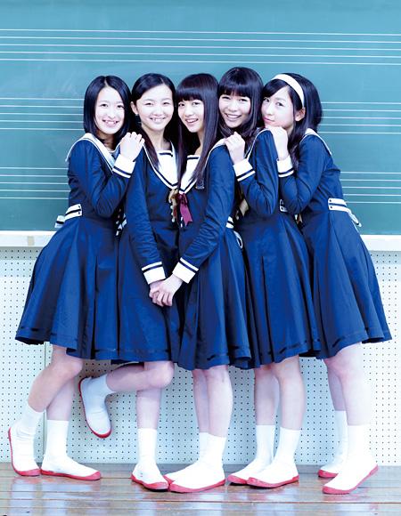 東京女子流 ©2014『5つ数えれば君の夢』製作委員会