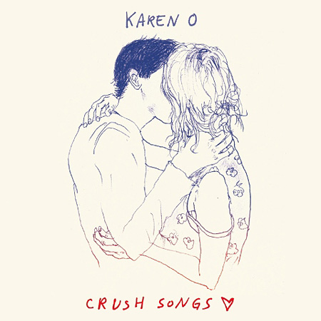 Karen O『CRUSH SONGS』ジャケット