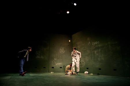 2014年8月 はえぎわ第26回公演『ガラパコスパコス ~進化してんのかしてないのか~』@三鷹市芸術文化センター 星のホール カメラマン:梅澤美幸