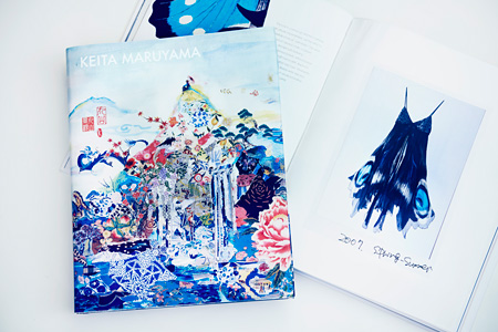 『KEITA MARUYAMA「丸山景観」』表紙・見開き