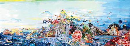 『丸山敬太20周年祭「丸山景観」全集大成展』メインビジュアル ©CHIE MORIMOTO