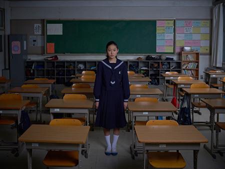 『ソロモンの偽証』藤野涼子役の女優 ©「ソロモンの偽証」製作委員会