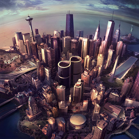 Foo Fighters『Sonic Highways』ジャケット