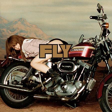 YUKI『FLY』アナログ盤ジャケット