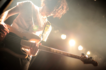 8月22日の渋谷STAR LOUNGE公演ライブ風景 photo by 西槇太一/Taichi Nishimaki」