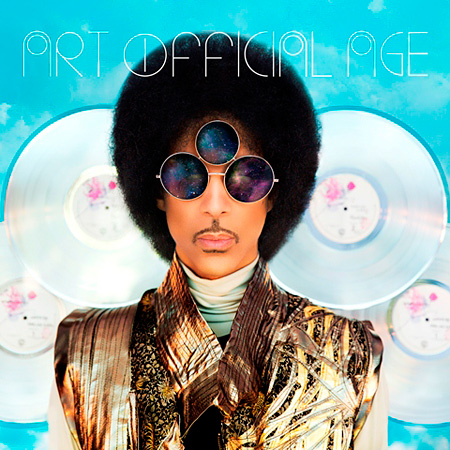 Prince『ART OFFICIAL AGE』ジャケット