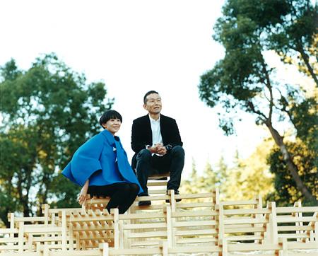 『森の学校』の校長を務める長嶋りかこ、椿昇