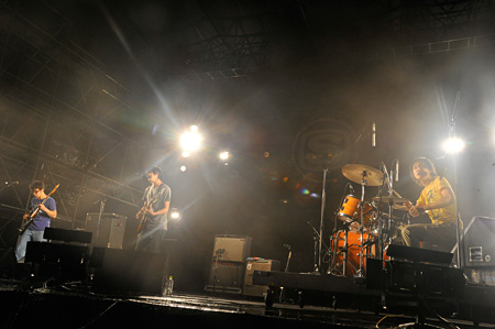 『SWEET LOVE SHOWER 2014』でのandymoriのライブ