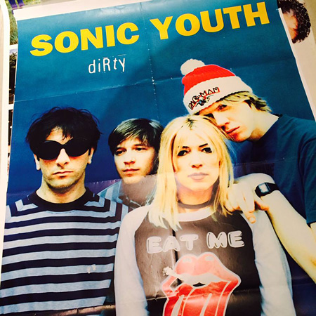 "『SONIC YOUTH ""100% DIRTY"" EXHIBITION』出展予定作品"