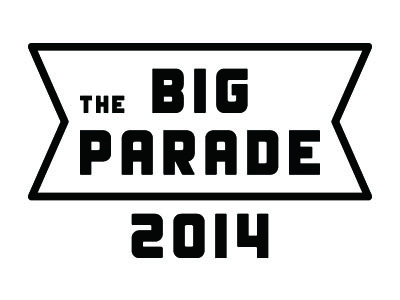 『THE BIG PARADE』ロゴ