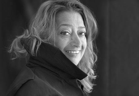 ザハ・ハディド photo: Brigitte Lacombe ©Zaha Hadid Architects