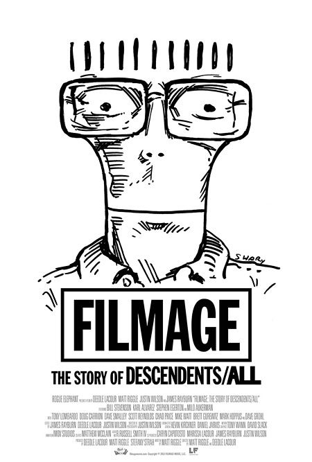『FILMAGE:THE STORY OF DESCENDENTS/ALL』キービジュアル ©2013 FILMAGE MOVIE, LLC.