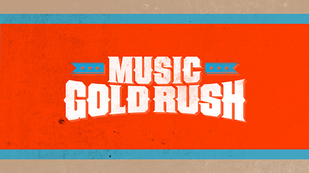 『J:COM × SPACE SHOWER TV present「MUSIC GOLD RUSH」supported by 洋服の青山』ロゴ