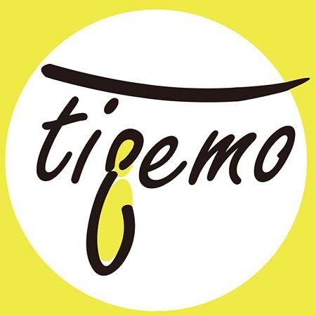 『tieemo』ロゴ