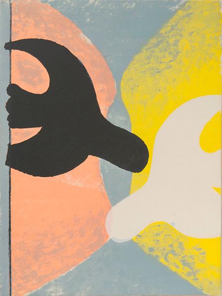 ジョルジュ・ブラック『鳥の復活』表紙 1959年刊 ポーラ美術館蔵