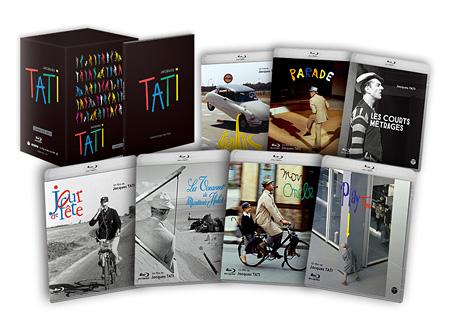 『ジャック・タチ コンプリートBOX』Blu-ray版