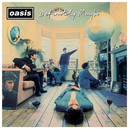 OASIS『Definitely Maybe』デラックスエディション ジャケット