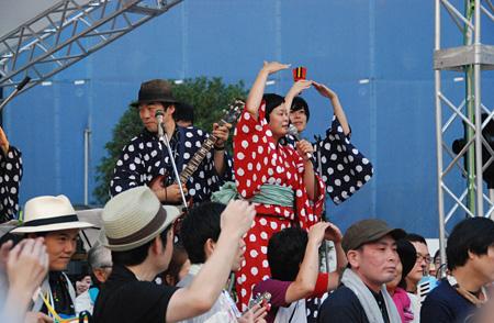 『フェスティバルFUKUSHIMA!2013 納涼!盆踊り』撮影:地引雄一