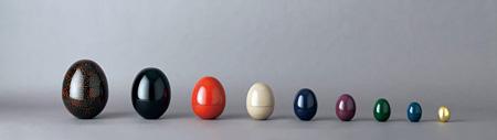 駝鳥の卵 マトリョーシュカ (浅葉克己デザイン)