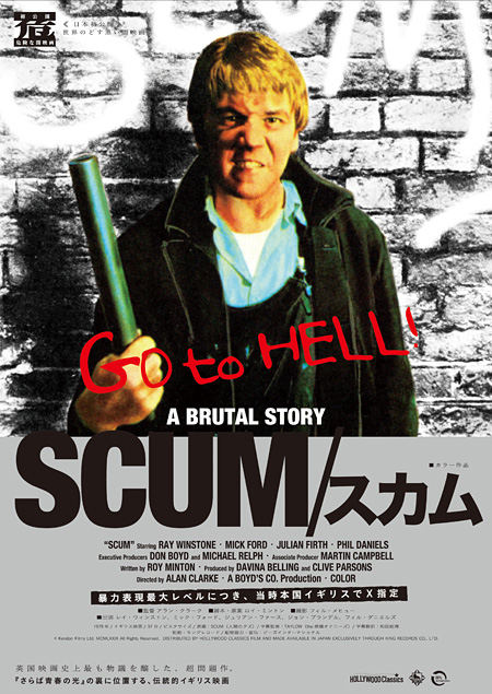 『SCUM/スカム』キービジュアル © Kendon Films Ltd. MCMLXXIX All Rights Reserved.