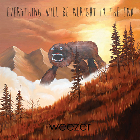 Weezer『Everything Will Be Alright In The End』日本盤ジャケット