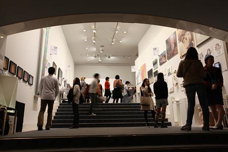 『THE ART FAIR + PLUS-ULTRA』過去の会場風景 Photo: Katsuhiro Ichikawa
