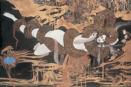 『魔天』1984 ©Yoshitaka AMANO