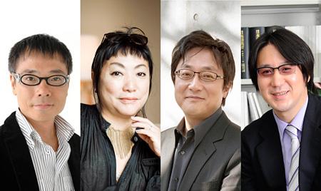 左からいとうせいこう、湯山玲子、町山智浩、サンキュータツオ