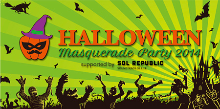 『「HALLOWEEN MASQUERADE PARTY 2014」supported by SOL REPUBLIC』イメージビジュアル