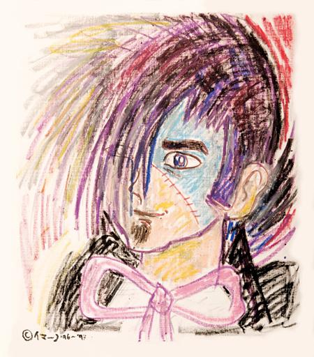 忌野清志郎が描いた『ブラック・ジャック』 ©Babys ©Tezuka Productions