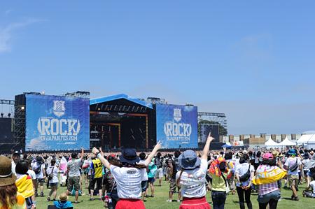 『ROCK IN JAPAN FESTIVAL 2014』会場風景