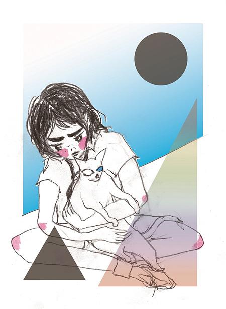 """小林エリカ『光の子ども """"光""""』2013 ©gallery 360°, 360°GRAPHICS 2012"""
