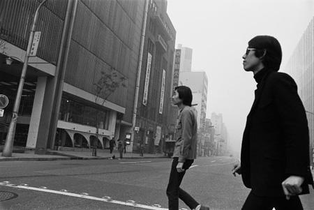 細野晴臣と松本隆 1968年 ©mike nogami