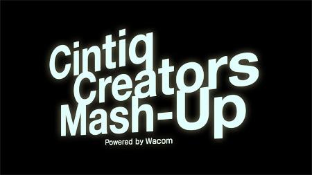 Cintiq Creators Mash-Up ロゴ