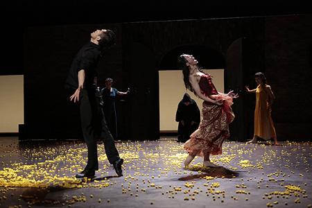 劇的舞踊『カルメン』より 撮影:篠山紀信