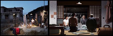 東京物語-B cameraシリーズ、2013年、二連の写真