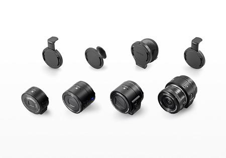 ソニー株式会社 レンズスタイルカメラ商品群「デジタルスチルカメラ DSC-QX10、DSC-QX30、DSC-QX100 レンズ交換式デジタルカメラ ILCE-QX1」