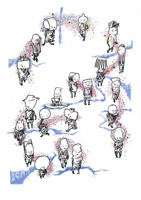 『透明な隣人 ~8 -エイト-によせて~』メインビジュアル ©宮田篤