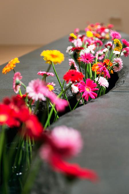 リー・ミンウェイ『ひろがる花園』 2009年 展示風景:第10回リヨン・ビエンナーレ、リヨン現代美術館、フランス、2009年 エイミー&レオ・シー氏蔵、台中 撮影:Blaise Adilon