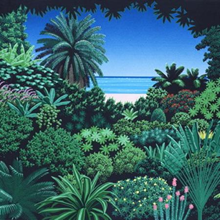 永井博「…coastline at lover's point」